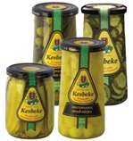 Pickled Onions and Gherkins from Holland