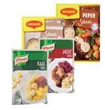 Groenten en Vleessauzen uit Belgie