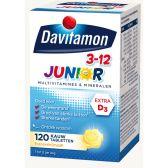 Davitamon Junior banana chewing tabs (from 3 to 12 years)