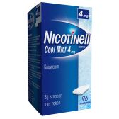 Nicotinell Mint chewing gum 4 mg against smoking