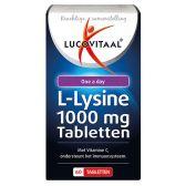 Lucovitaal L-lysine 1000 mg tabs