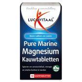 Lucovitaal Pure marine magnesium kauwtabletten