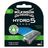 Wilkinson Sword Hydro 5 sense razor blades