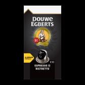 Douwe Egberts Espresso ristretto koffiecups