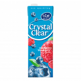 Crystal Clear Raspberry and blueberry