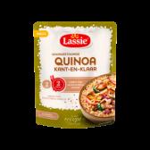 Lassie Pre-steamed quinoa ready in a minute