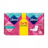 Libresse Ultra long sanitary pads with wings double pack