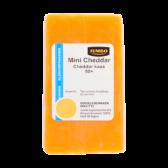 Jumbo Mini cheddar 50+ kaas kleinverpakking