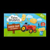 Farm Brothers Biologische choco chip koekjes