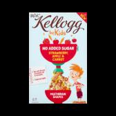Kellogg's WK door kinderen suikervrije aardbeien, appel en wortel