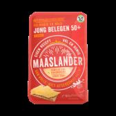 Maaslander Jong belegen 50+ kaas plakken
