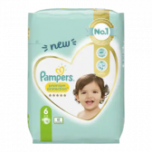Pampers Premium protection size 6 diapers (from 13 kg)