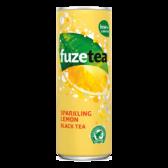 Fuze Tea Sparkling lemon black tea