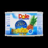 Dole Tropisch goud ananaschunks op sap klein
