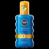 Nivea Beschermende en droge onzichtbare zonne spray hoog SPF 30