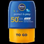 Nivea Beschermende en speelse zonnemelk SPF 50 pocket size voor kinderen