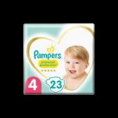 Pampers Premium protection maat 4 luiers (vanaf 9 kg tot 14 kg)