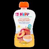 Hipp Biologische appel, perzik en granen (vanaf 6 maanden)