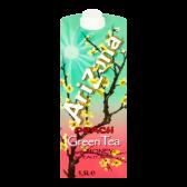 Arizona Green tea with honey and peach