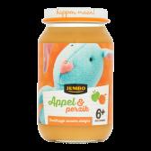 Jumbo Appel en perzik (vanaf 6 maanden)