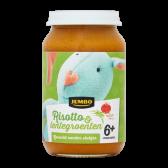 Jumbo Risotto met lentegroenten (vanaf 6 maanden)