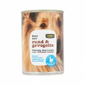 Jumbo Beef and poultry pate for dogs (only available within Europe)