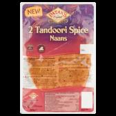 Patak's Tandoori pittige naans