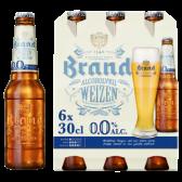 Brand Weizen alcohol free beer
