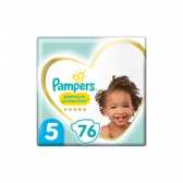 Pampers Premium protection size 5 diapers (from 11 kg to 16 kg)