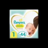 Pampers Premium protection maat 1 luiers (vanaf 2 kg tot 5 kg)