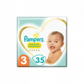 Pampers Premium protection size 3 diapers (from 6 kg to 10 kg)