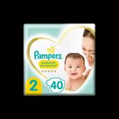 Pampers Premium protection maat 2 luiers (vanaf 4 kg tot 8 kg)