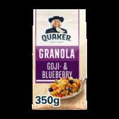 Quaker Granola goji and blueberry