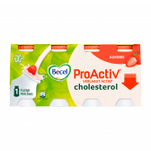 Becel Pro-activ strawberry mini yoghurt drink (at your own risk)