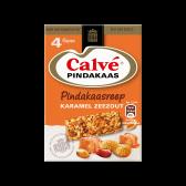 Calve Pindakaasreep met karamel en zeezout