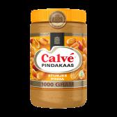 Calve Pindakaas met stukjes pinda XL