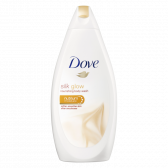 Dove Silk glow shower cream large