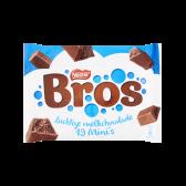 Bros Milk chocolate minis