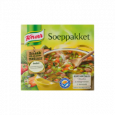 Knorr Soup package