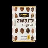 Jumbo Zwarte olijven zonder pit groot