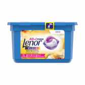 Lenor Golden orchid washing caps