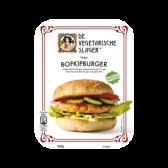 De Vegetarische Slager Vegan bofkipburger (voor uw eigen risico, geen restitutie mogelijk)