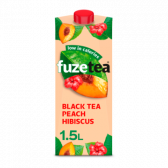 Fuze Tea Black tea peach hibiscus