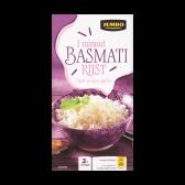 Jumbo Basmati rijst 1 minuut