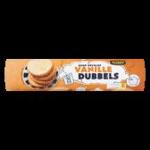 Jumbo Vanilla doubles cookies