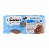 Consenza Gluten free and lactose free rice waffles with chocolate