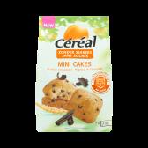 Cereal Suikervrije mini cakes met stukjes chocolade
