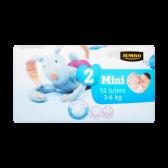 Jumbo 2 Mini 3-6 kg diapers
