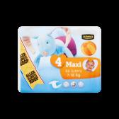 Jumbo 4 Maxi 7-18 kg diapers large