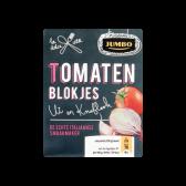 Jumbo Tomatenblokjes met ui en knoflook